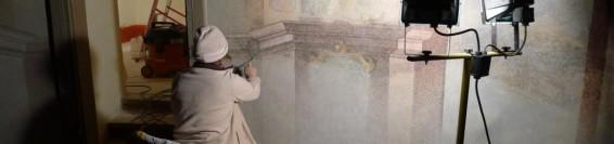 Végső retusálás az Alsó templom három kápolnájában