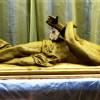 A sírban fekvő Jézus szobra a Jézus Szentséges Szíve kápolnából